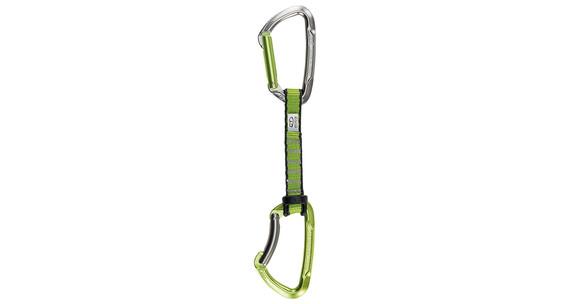 Climbing Technology Lime Set NY 5 Pcs - Dégaine - 12cm gris/vert
